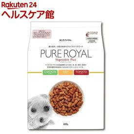 【訳あり】ピュアロイヤル ベジタブルプラス トマト(600g)【ピュアロイヤル】[ドッグフード]