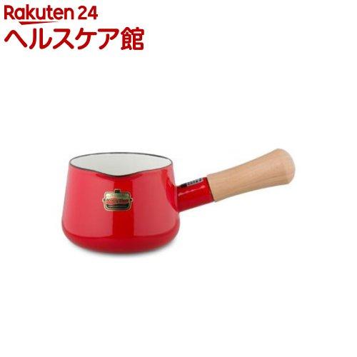 ハニーウェア ソリッド ミルクパン 12cm レッド SD-12M・R(1コ入)【ハニーウェア】