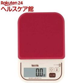 タニタ デジタルクッキングスケール レッド KJ-111M-RD(1コ入)【タニタ(TANITA)】