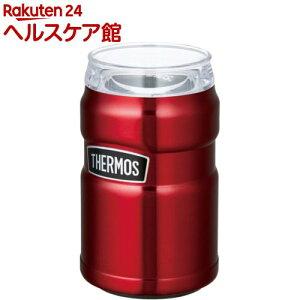サーモス アウトドア 保冷缶ホルダー 350ml缶用 ROD-002 CRB クランベリー(1個)【サーモス(THERMOS)】