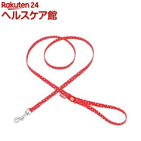 ペティオ アルファッション ハートドットリード XS SS レッド(1コ入)【アルファッション(ARFashion)】