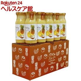 【訳あり】ビッグバーンフーズ 100%スムージー バナナ&パイナップル&ココナッツ(180g*10本入)