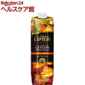 サー・トーマス・リプトン アイスティー 甘さひかえめ(1L*6本入)【リプトン(Lipton)】