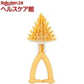 ニコット キッチンブラシ カクちゃん マリーゴールド K60443(1コ入)【ニコット】
