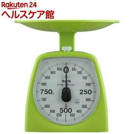 タニタ アナログクッキングスケール 1000g グリーン 1439-GR-1kg(1コ入)【タニタ(TANITA)】
