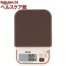 タニタ デジタルクッキングスケール ブラウン KJ-111M-BR(1コ入)【タニタ(TANITA)】