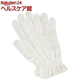 京都西陣の絹糸屋さんのシルク手袋(1双)