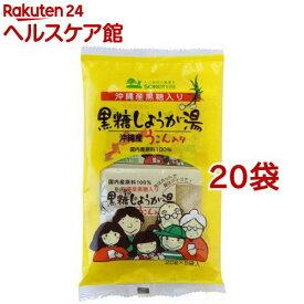 沖縄産うこん入り黒糖しょうが湯(20g*5袋入*20セット)