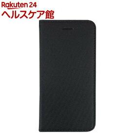 ナカバヤシ iphone7用 PUレザーケース ブラック SMC-IP1602BK(1コ入)