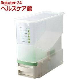 洗える計量米びつ ビッツ 無洗米対応(1台)