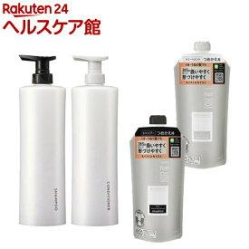スマートホルダーSP&CD白+フラット モイスト&モイストSP&TM詰替(1セット)【エッセンシャル(Essential)】