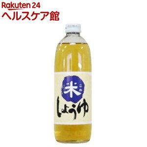 米しょうゆ(500ml)【spts4】【大高醤油】[醤油]