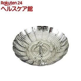 カイハウス セレクト ステンレス フリーサイズ蒸し器 18〜24cm用 DH7149(1コ入)【Kai House SELECT】