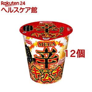 【訳あり】エースコック MEGA 辛 濃厚鬼辛 キムチラーメン(12個セット)【エースコック】