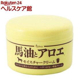 ビューナ 馬油とアロエのモイスチャークリーム(215g)