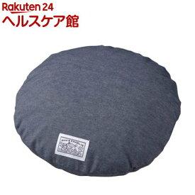 ハチ 接触冷感クッションカバー デニム調 ラウンド S(1枚入)【ハチ(hachi)】