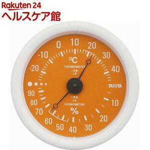 タニタ 温湿度計 オレンジ TT-515-OR(1台)【タニタ(TANITA)】
