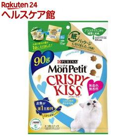 モンプチ クリスピーキッス 贅沢お魚味 たっぷりサイズ(3g*30袋入)【dalc_monpetit】【モンプチ】