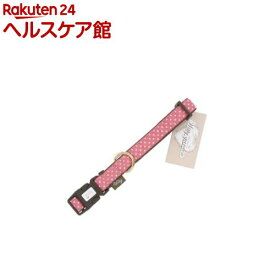 ウィッティガーデン 水玉 首輪 M ピンク(1個入)【ウィッティガーデン】