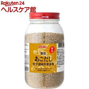 顆粒あごだし 化学調味料無添加 業務用(400g)【ユウキ食品(youki)】
