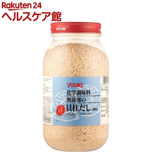 ユウキ食品 業務用 化学調味料無添加の貝柱だし(400g)【ユウキ食品(youki)】