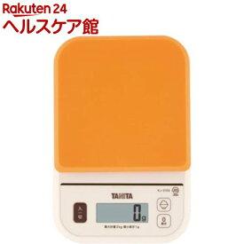 タニタ デジタルクッキングスケール オレンジ KJ-210S-OR(1コ入)【タニタ(TANITA)】