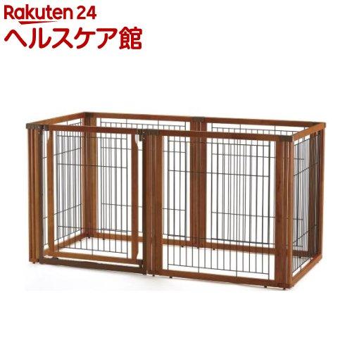 リッチェル ペット用 木製3ウェイサークル 6面90H ブラウン(1台)【送料無料】