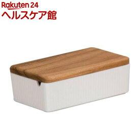 ヴィヴ(VIV) バターケース ホワイト(1コ入)【ヴィヴ(ViV)】