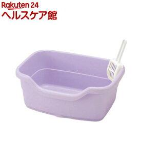 リッチェル コロル ネコトイレ F40 パープル(1コ入)【コロル】