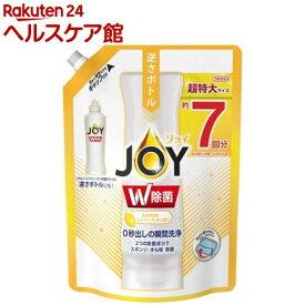 除菌ジョイ コンパクト 食器用洗剤 スパークリングレモンの香り 詰替 超特大(960ml)【ジョイ(Joy)】