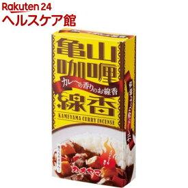 カメヤマ カレーの香りのミニ寸線香(50g)【故人の好物シリーズ】