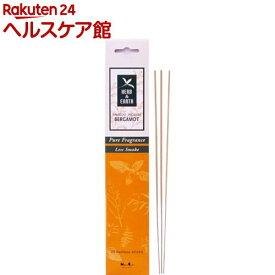 ハーブ&アース バンブーインセンス ベルガモット(20本入)【日本香堂】