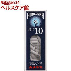 カメヤマ ローソク 灯しび 10号 極小 豆ダルマ(120本入)
