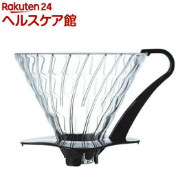 ハリオ VDG-03B V60耐熱ガラス透過ドリッパー ブラック(1コ入)【ハリオ(HARIO)】