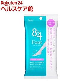 エイトフォー フットシート(16枚入)【8X4(エイトフォー)】