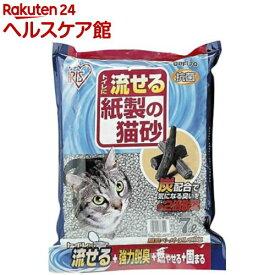 アイリスオーヤマ トイレに流せる紙製の猫砂 脱臭ペーパーフレッシュ DPF-70(7L)【アイリスオーヤマ】