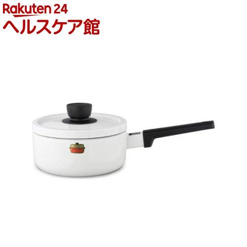 ハニーウェア ソリッド ソースパン 18cm ホワイト SD-18S・W(1コ入)【ハニーウェア】
