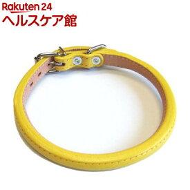 ロール丸首輪 4 黄(1コ入)