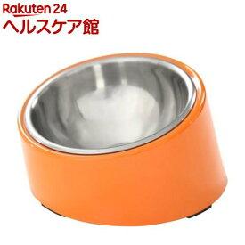 スーパーペットボウル ポップボウル オレンジ(1コ入)【スーパーペットボウル(S.P.B.)】