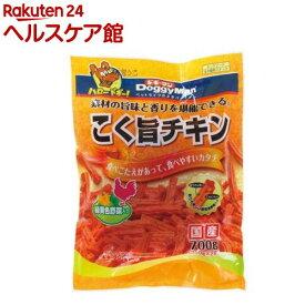 ドギーマン こく旨 チキン 緑黄色野菜入り(350g*2袋入)【ドギーマン(Doggy Man)】