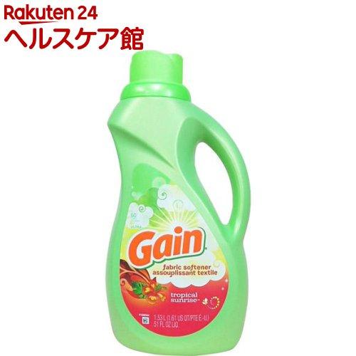 ゲイン ソフナー トロピカルサンライズ(1530mL)【ゲイン(Gain)】