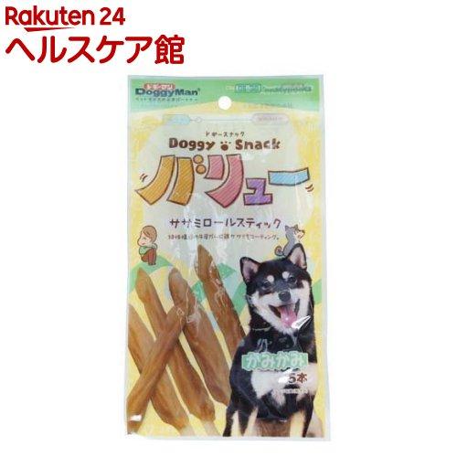 ドギーマン ドギースナックバリュー ササミロールスティック(5本入)【ドギーマン(Doggy Man)】