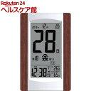 アデッソ デジタル日めくり電波時計 KW9256(1コ入)【ADESSO(アデッソ)】
