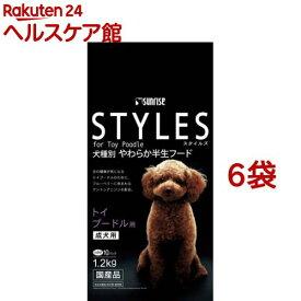 サンライズ スタイルズ トイプードル用(1.2kg*6コセット)【スタイルズ(STYLES)】