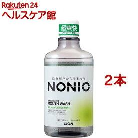 ノニオ マウスウォッシュ スプラッシュシトラスミント(600ml*2コセット)【u9m】【ノニオ(NONIO)】