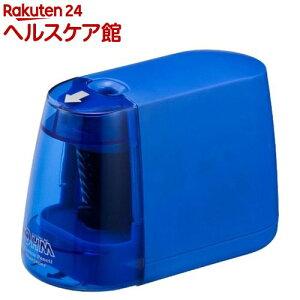 電動えんぴつ削り 乾電池式 ブルー JIM-E01-A(1台)【OHM】