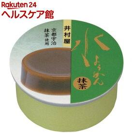 井村屋 缶水ようかん 抹茶(83g)【井村屋】