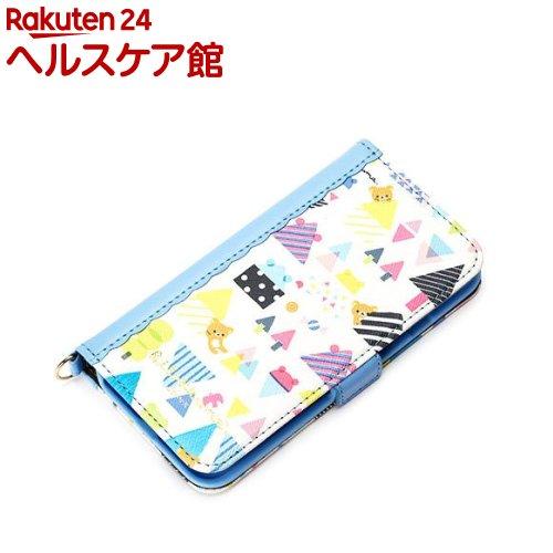 iPhone7用 フリップカバー リラックマ/かくれんぼ YY01705(1コ入)