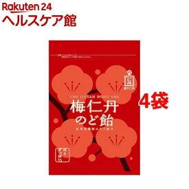 梅仁丹 のど飴 約17粒(60g*4袋セット)