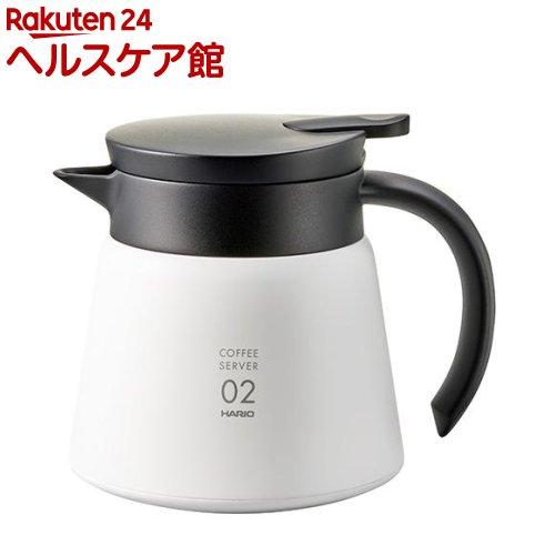ハリオ V60保温ステンレスサーバー600 ホワイト(1コ入)【ハリオ(HARIO)】